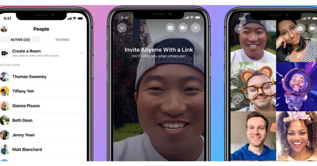 Instagram kini bisa untuk video call hingga 50 orang.