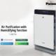 Produk Air Purifier Panasonic F-VXK70A yang memiliki teknologi NanoE