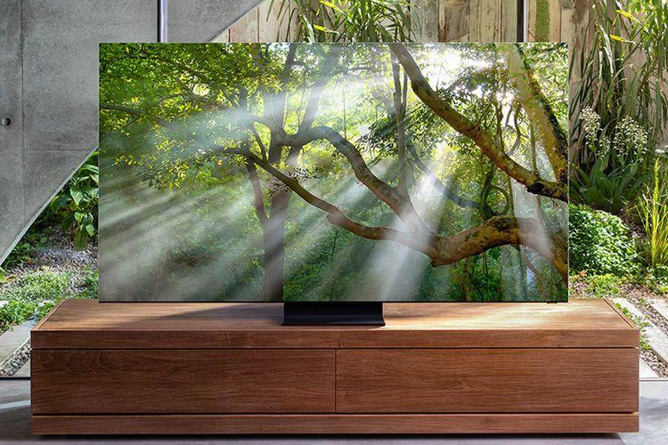 Samsung 8K menyuguhkan visual realistis yang jernih dengan resolusi 4x lebih besar dari 4K