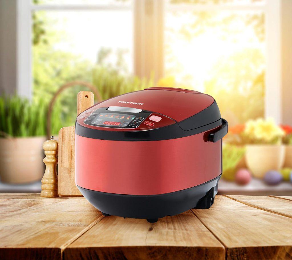 Bentuk Tiara Pot mirip dengan rice cooker namun produk ini adalah smart cooker karena bisa memasak berbagai macam makanan