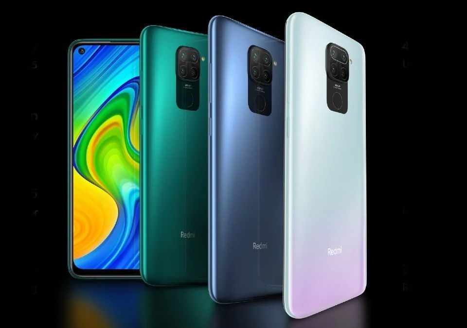 Pilihan warna Redmi Note 9 Pro yakni Interstellar Grey, Tropical Green, dan Glacier White