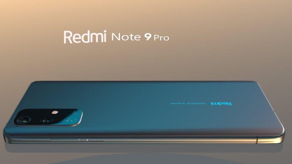 Bentuk Fisik Redmi Note 9 Pro dengan fitur sidik jari pada bagian samping