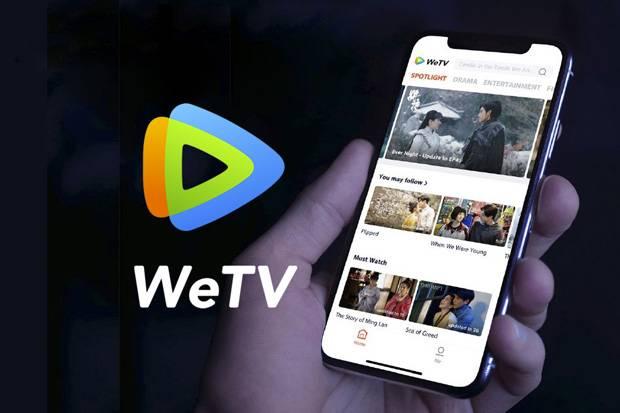 Ilustrasi WeTV, layanan streaming video milik Tencent yang pertama kali diluncurkan di Thailand