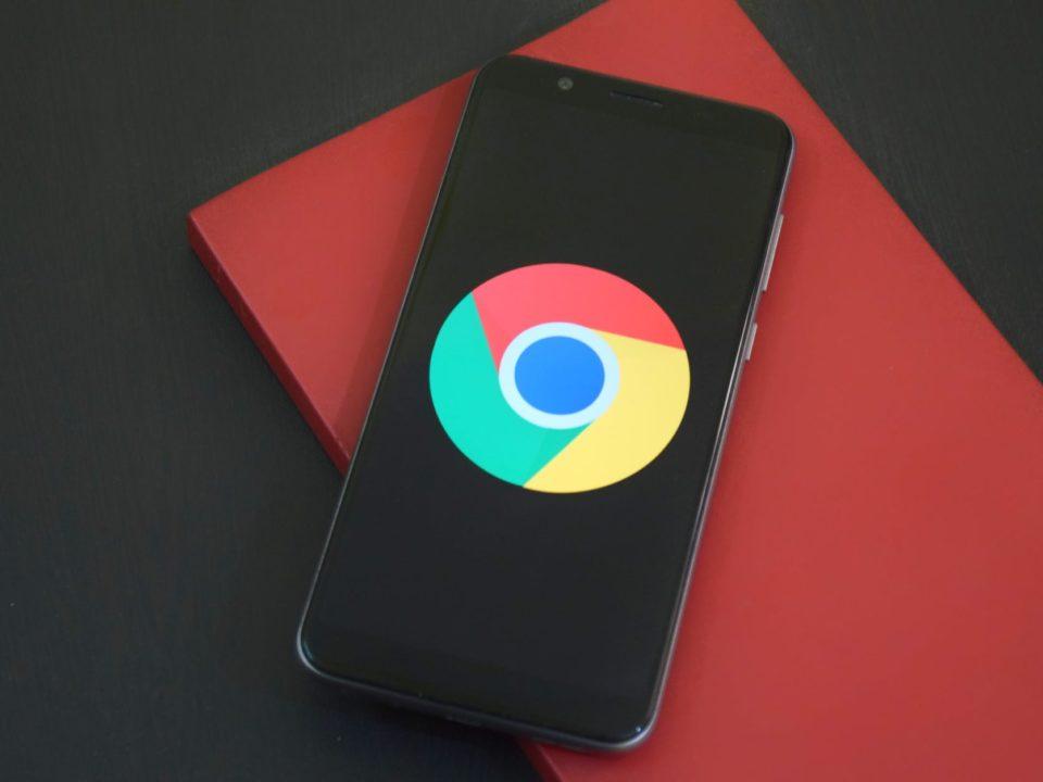 Logo Google Chrome yang kini telah mempunyai beragam update keren