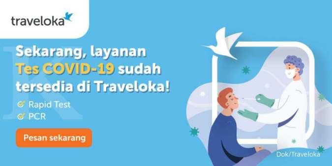 Tes Rapid Traveloka untuk menjjaga penggunanya tetap aman selama berwisata