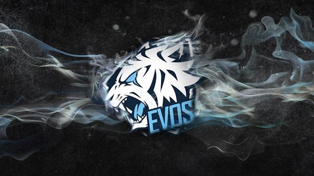 Logo EVOS salah satu tim esports Indonesia